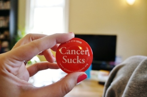 My mom gave me this button.