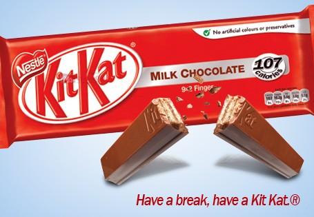 Oh lordy, now I really wish I had a Kit Kat.