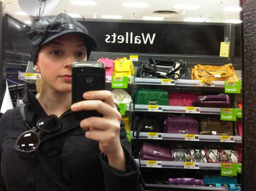 Walmart hat fashion.